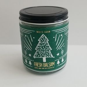 SOLD - Fresh Balsam Single Wick Candle